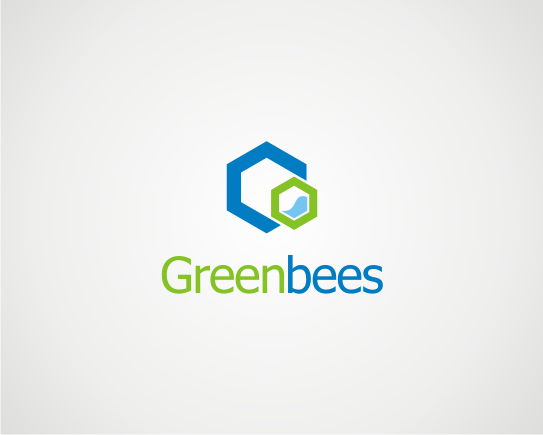 Logo Design by OriQ - Entry No. 244 in the Logo Design Contest Greenbees Logo Design.