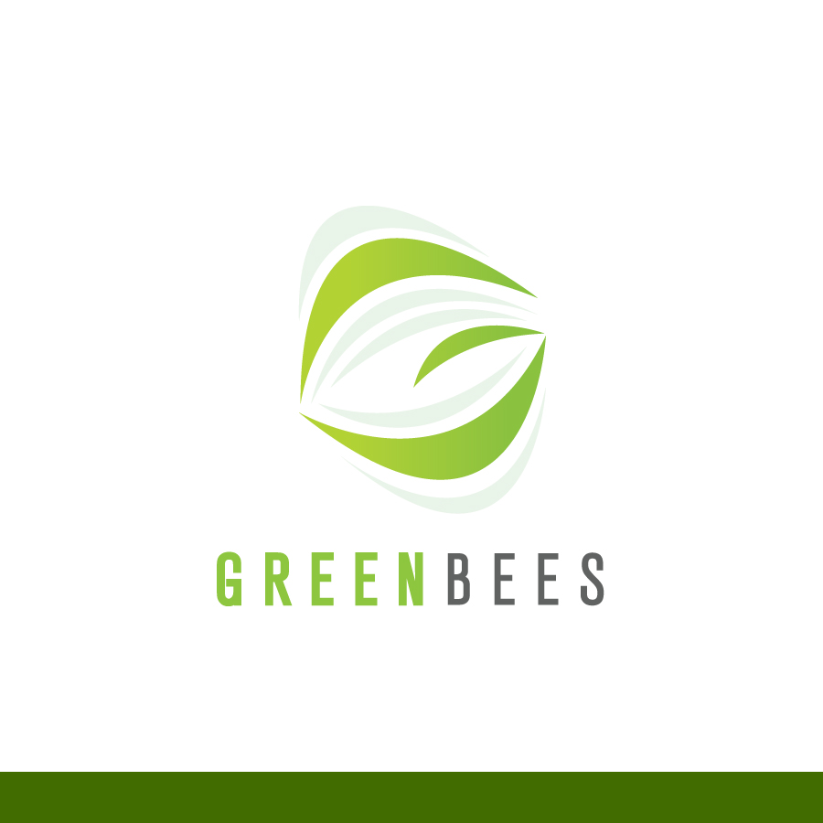 Logo Design by Edward Goodwin - Entry No. 245 in the Logo Design Contest Greenbees Logo Design.