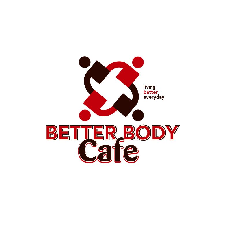 Logo Design by Dan Cristian - Entry No. 89 in the Logo Design Contest New Logo Design for Better Body Cafe.