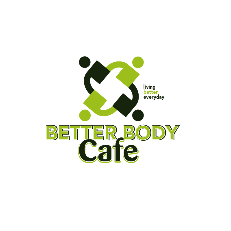 Logo Design by Dan Cristian - Entry No. 90 in the Logo Design Contest New Logo Design for Better Body Cafe.