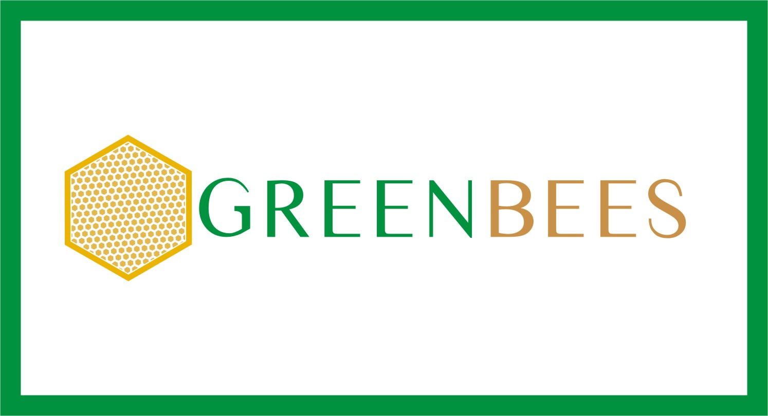 Logo Design by Crystal Desizns - Entry No. 251 in the Logo Design Contest Greenbees Logo Design.