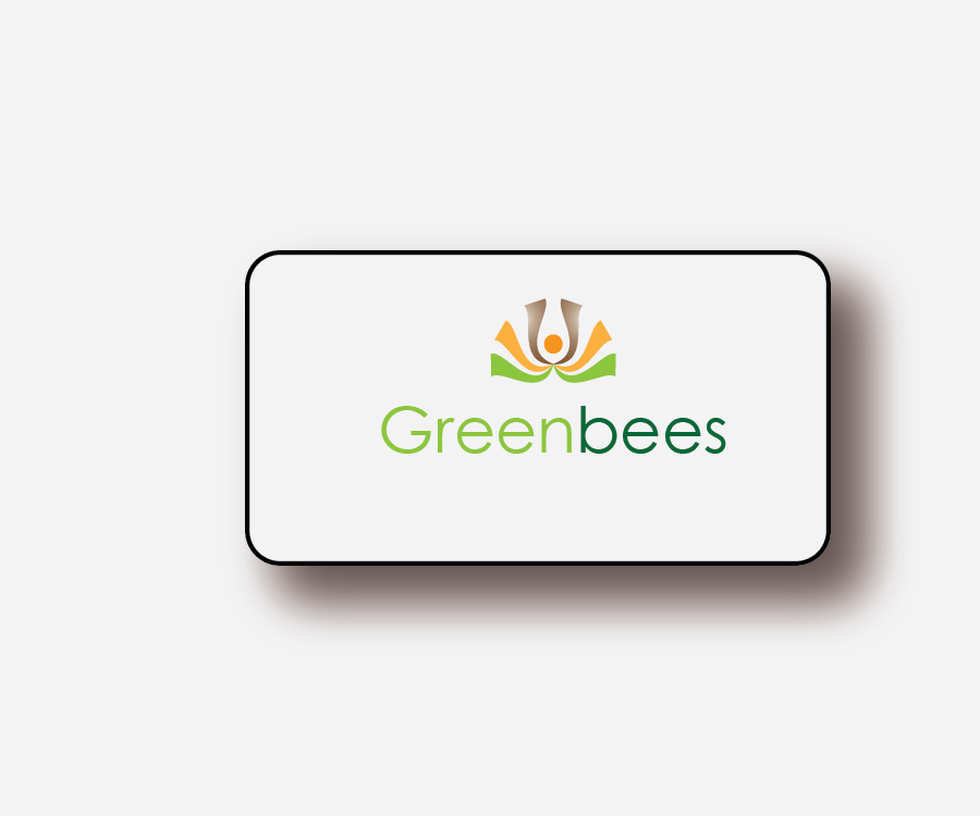 Logo Design by Jake Maco - Entry No. 254 in the Logo Design Contest Greenbees Logo Design.