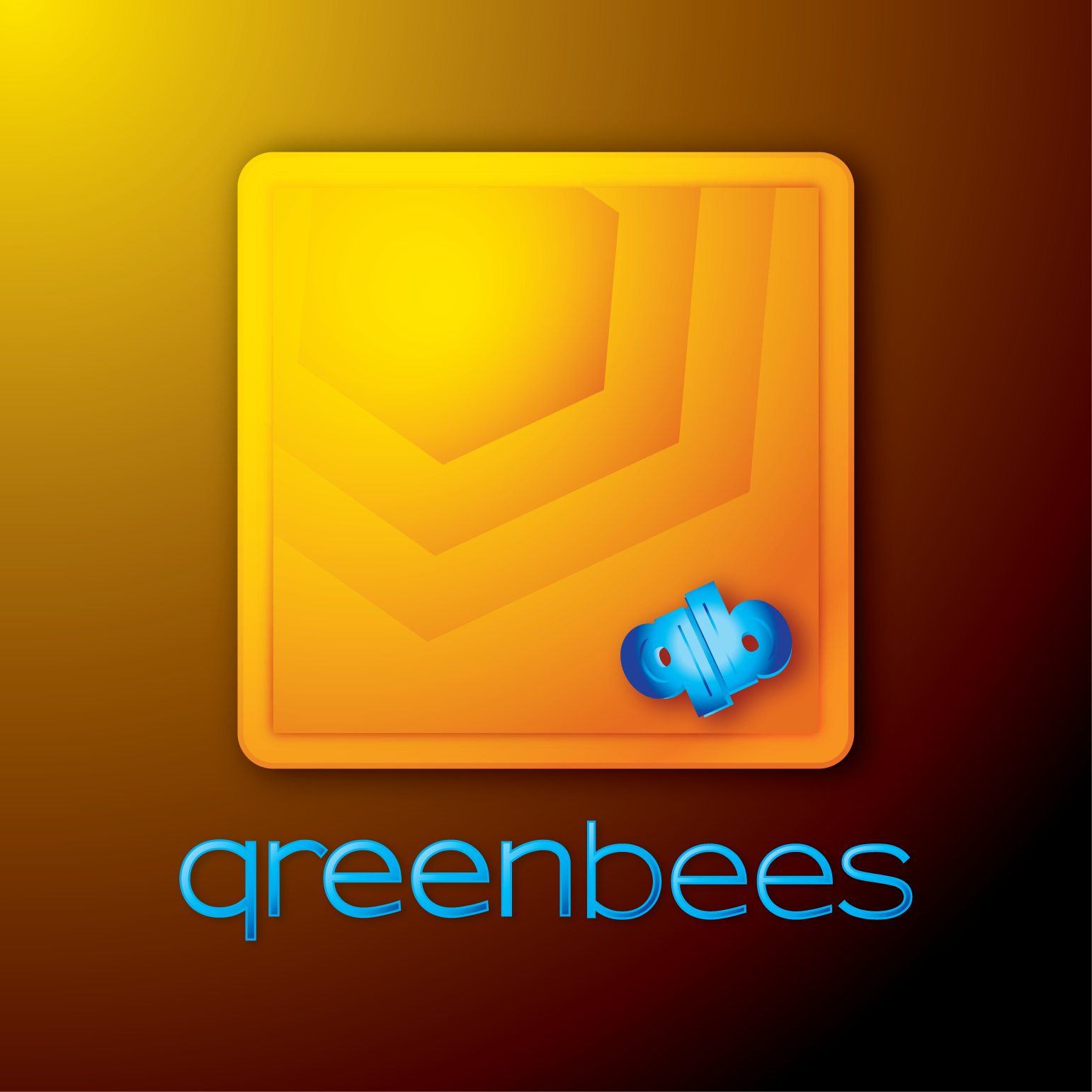 Logo Design by Teresa Abney - Entry No. 256 in the Logo Design Contest Greenbees Logo Design.