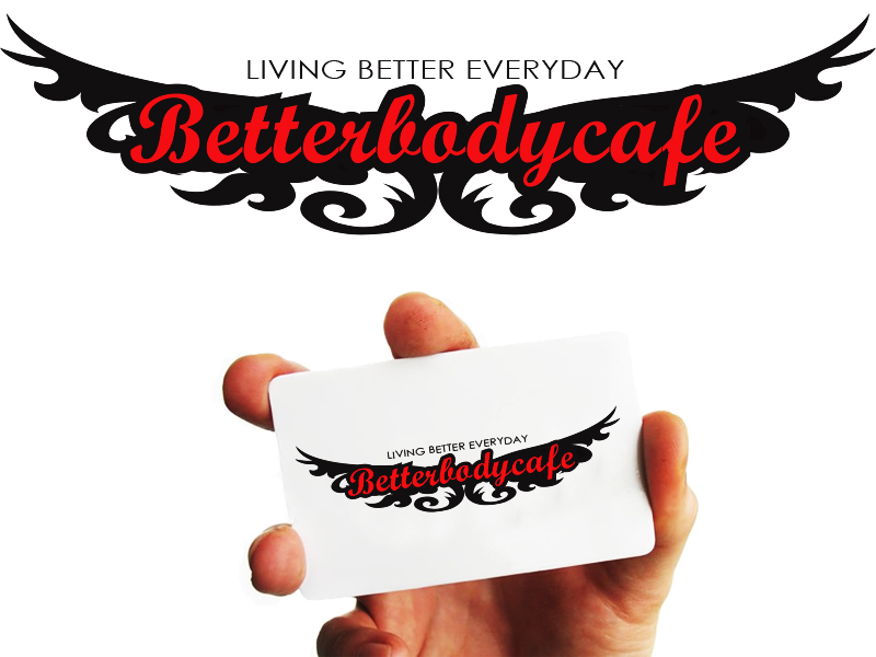 Logo Design by Mythos Designs - Entry No. 97 in the Logo Design Contest New Logo Design for Better Body Cafe.