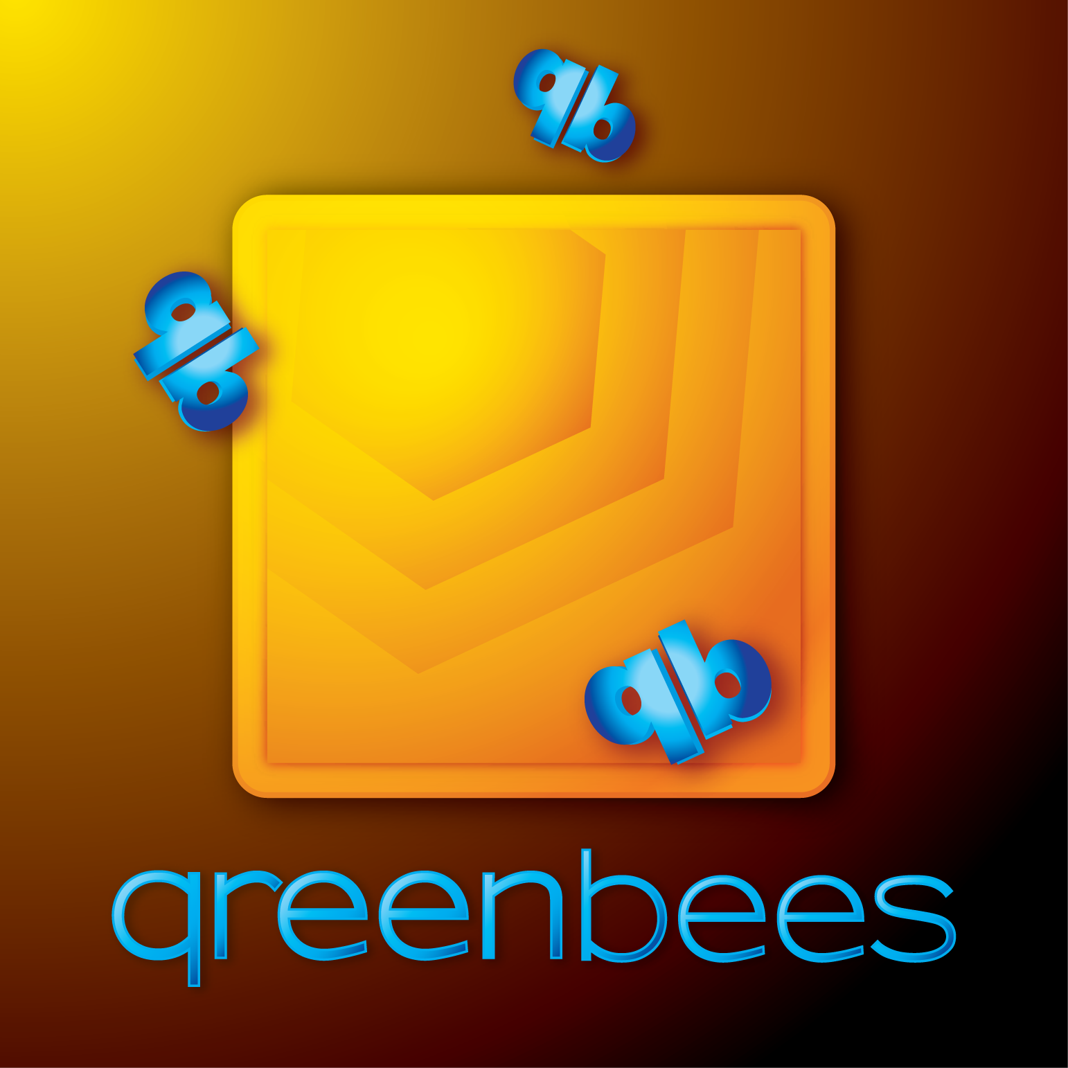 Logo Design by Teresa Abney - Entry No. 257 in the Logo Design Contest Greenbees Logo Design.