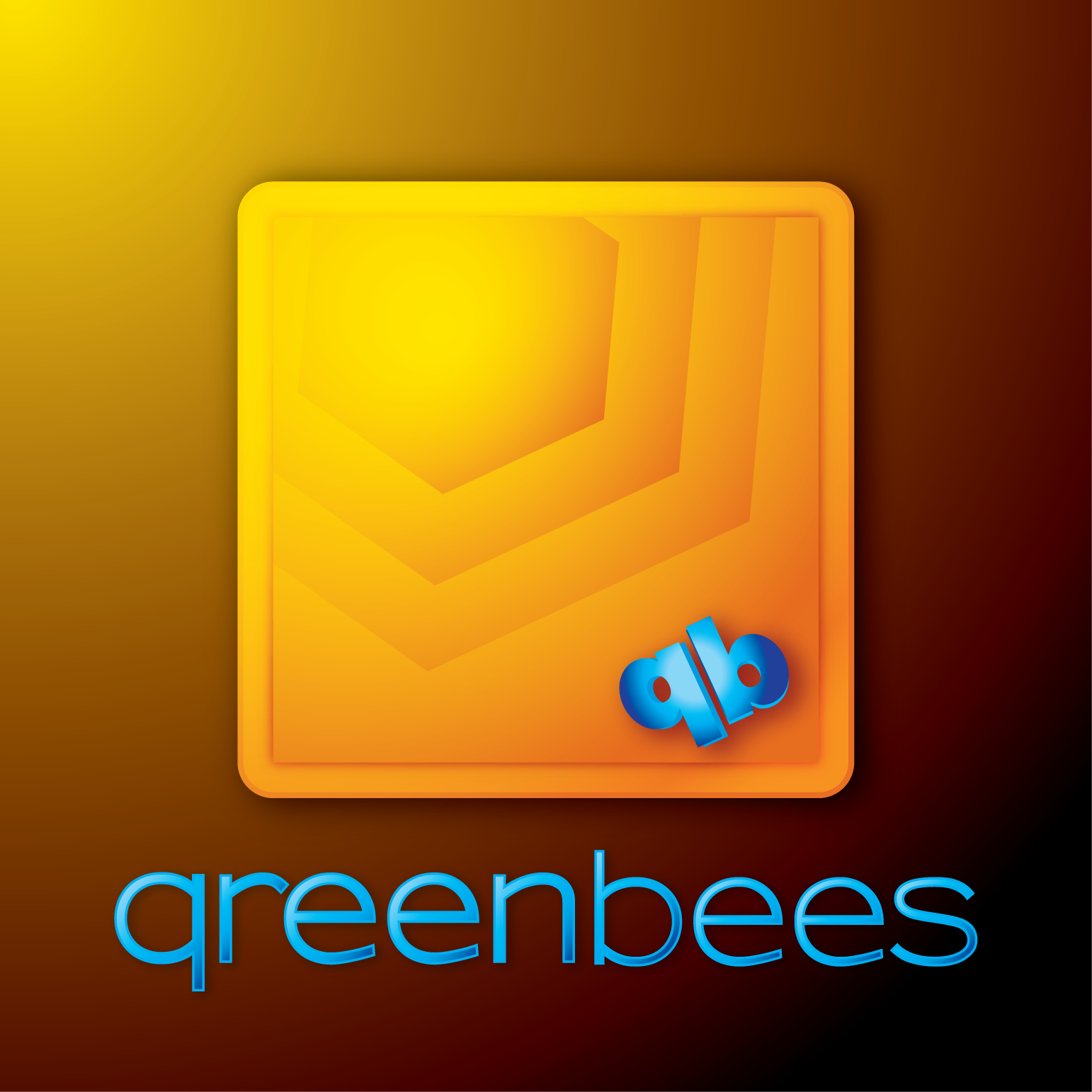 Logo Design by Teresa Abney - Entry No. 258 in the Logo Design Contest Greenbees Logo Design.