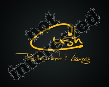 Logo Design by YOiBE1 - Entry No. 66 in the Logo Design Contest Cush Restaurant & Lounge Ltd..