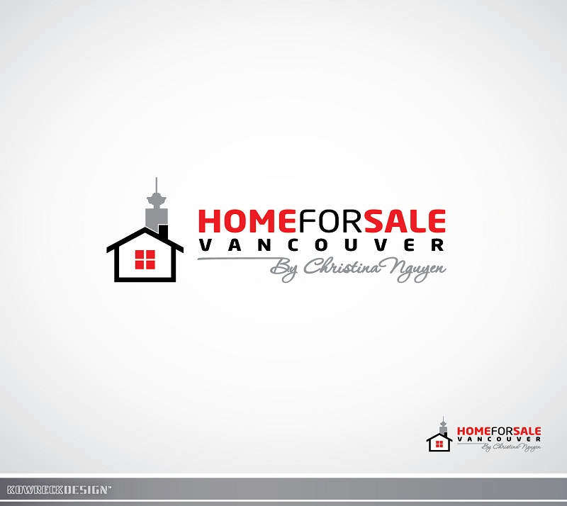 Logo Design by kowreck - Entry No. 132 in the Logo Design Contest New Logo Design for HomeForSaleVancouver.