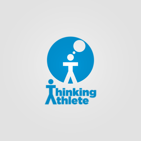 Logo Design by Private User - Entry No. 15 in the Logo Design Contest Thinking Athlete Logo Design.