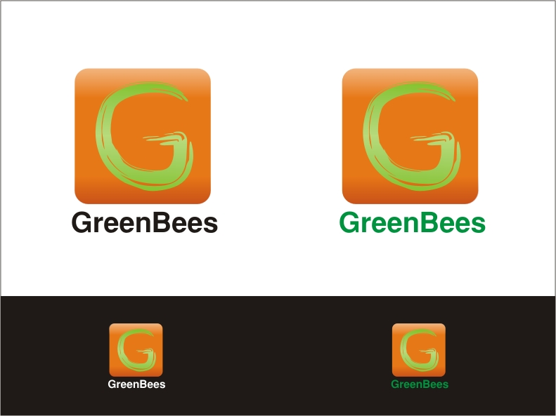 Logo Design by RED HORSE design studio - Entry No. 260 in the Logo Design Contest Greenbees Logo Design.