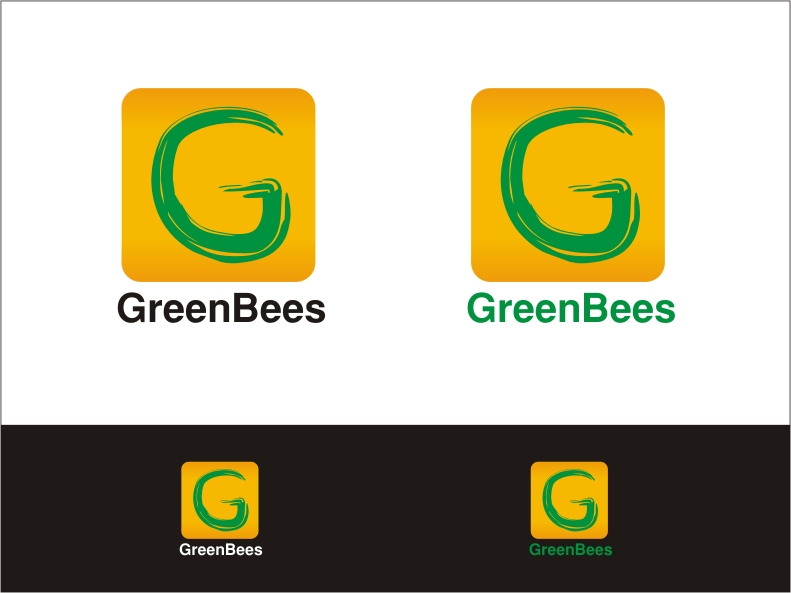 Logo Design by RED HORSE design studio - Entry No. 261 in the Logo Design Contest Greenbees Logo Design.