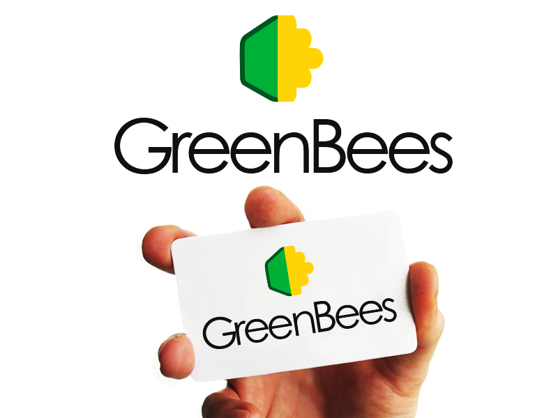Logo Design by Mythos Designs - Entry No. 262 in the Logo Design Contest Greenbees Logo Design.