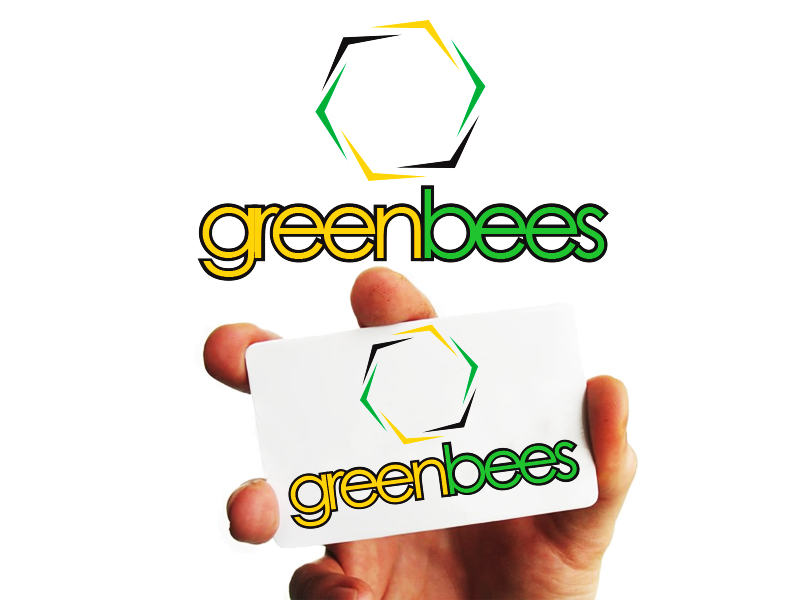Logo Design by Mythos Designs - Entry No. 263 in the Logo Design Contest Greenbees Logo Design.