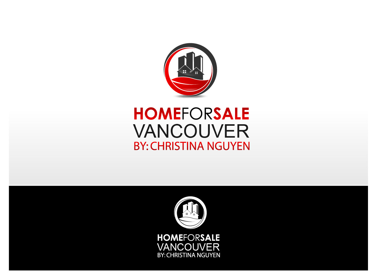 Logo Design by Ika Sari - Entry No. 137 in the Logo Design Contest New Logo Design for HomeForSaleVancouver.