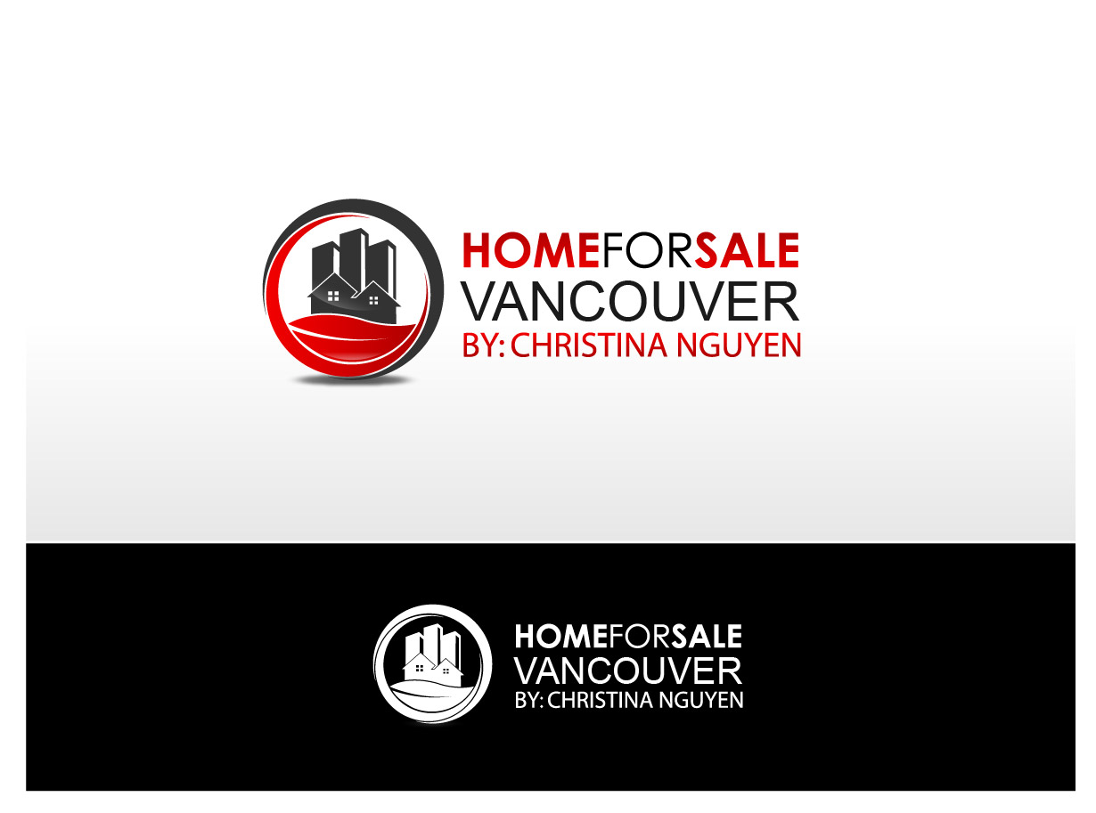 Logo Design by Ika Sari - Entry No. 138 in the Logo Design Contest New Logo Design for HomeForSaleVancouver.