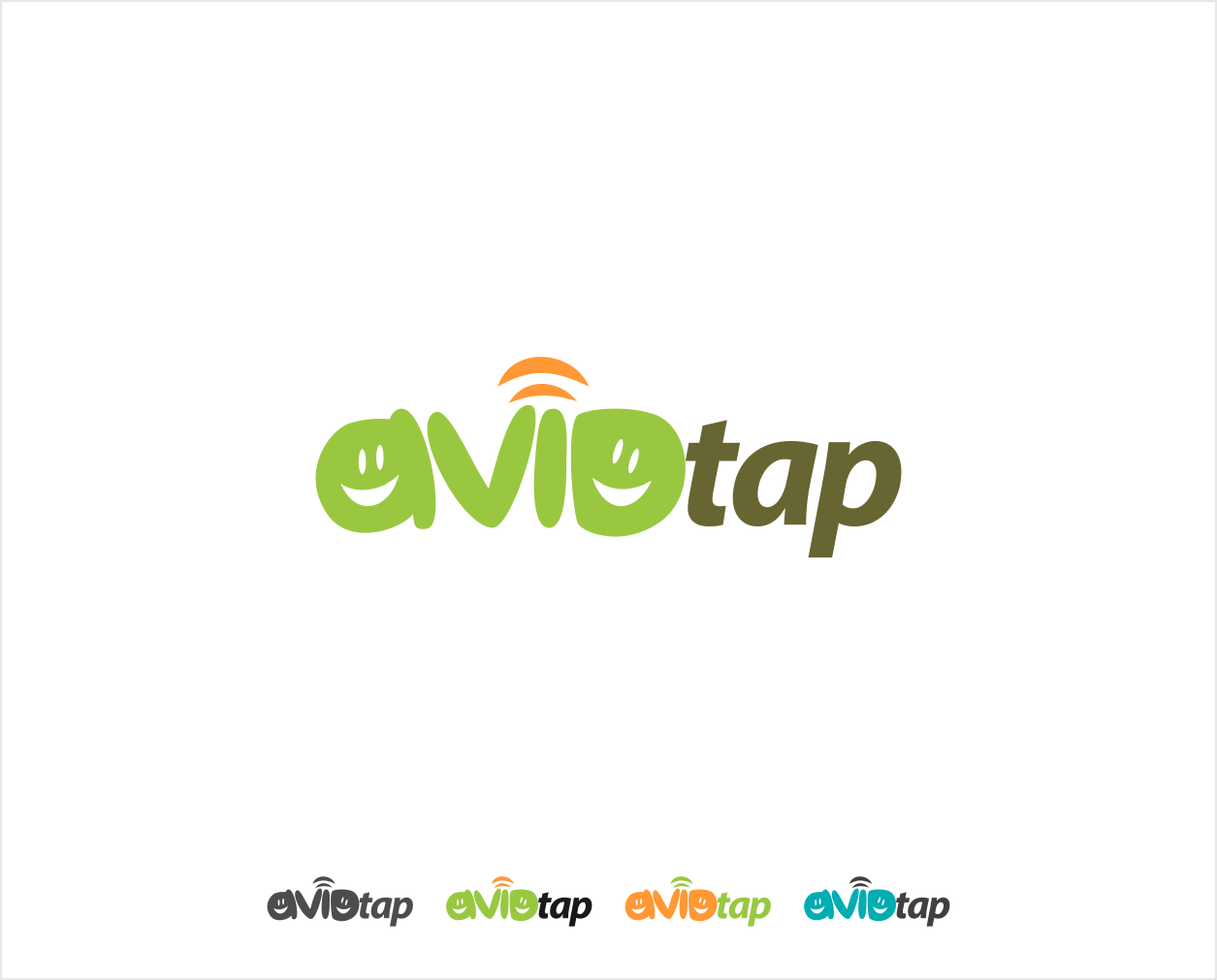 Logo Design by Jorge Sardon - Entry No. 46 in the Logo Design Contest Imaginative Logo Design for AvidTap.