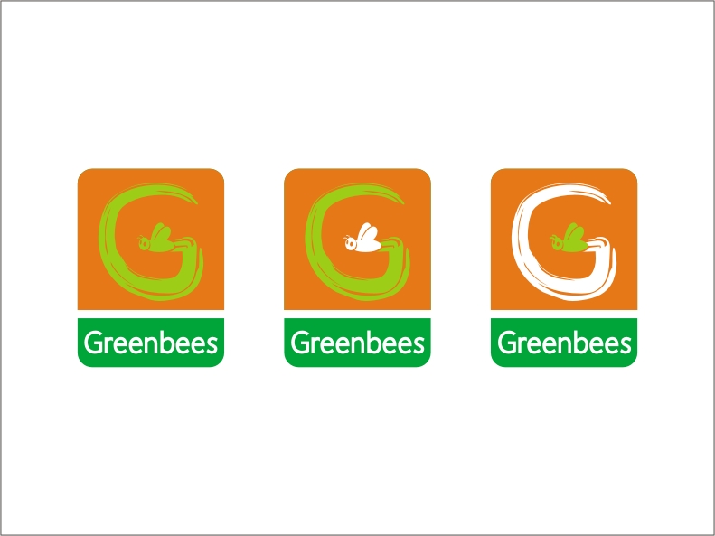 Logo Design by RED HORSE design studio - Entry No. 266 in the Logo Design Contest Greenbees Logo Design.