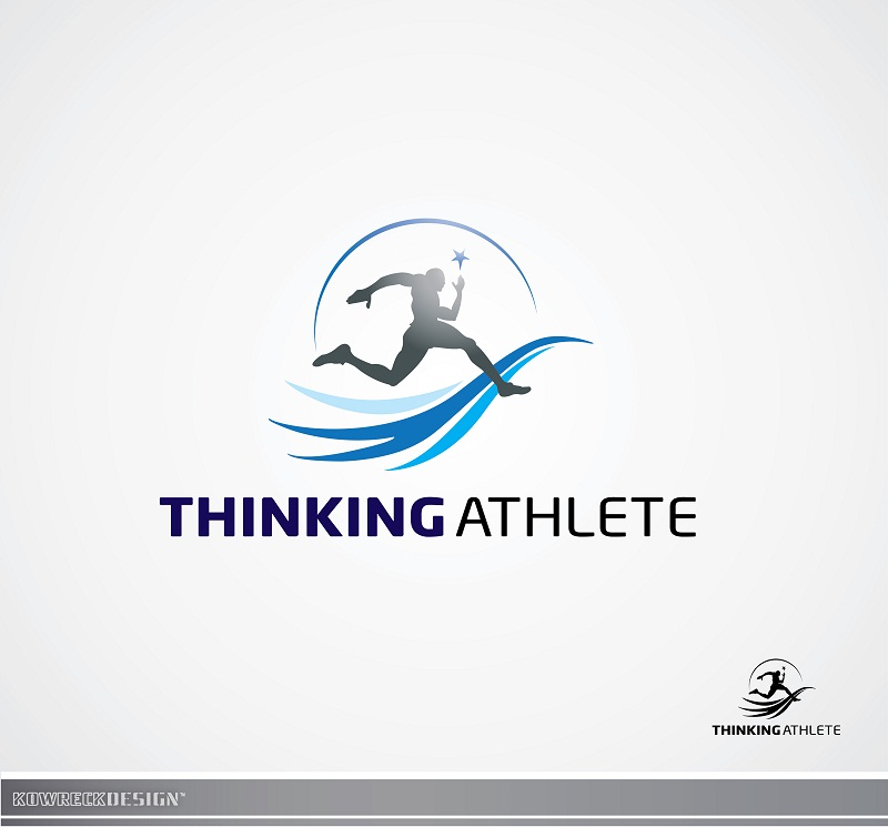 Logo Design by kowreck - Entry No. 16 in the Logo Design Contest Thinking Athlete Logo Design.