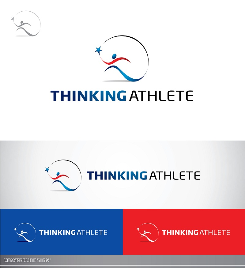 Logo Design by kowreck - Entry No. 17 in the Logo Design Contest Thinking Athlete Logo Design.