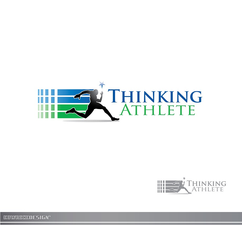 Logo Design by kowreck - Entry No. 18 in the Logo Design Contest Thinking Athlete Logo Design.