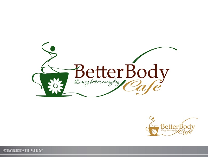 Logo Design by kowreck - Entry No. 107 in the Logo Design Contest New Logo Design for Better Body Cafe.