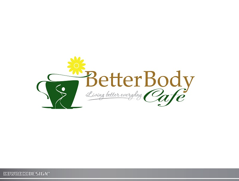 Logo Design by kowreck - Entry No. 108 in the Logo Design Contest New Logo Design for Better Body Cafe.