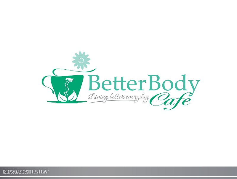 Logo Design by kowreck - Entry No. 110 in the Logo Design Contest New Logo Design for Better Body Cafe.