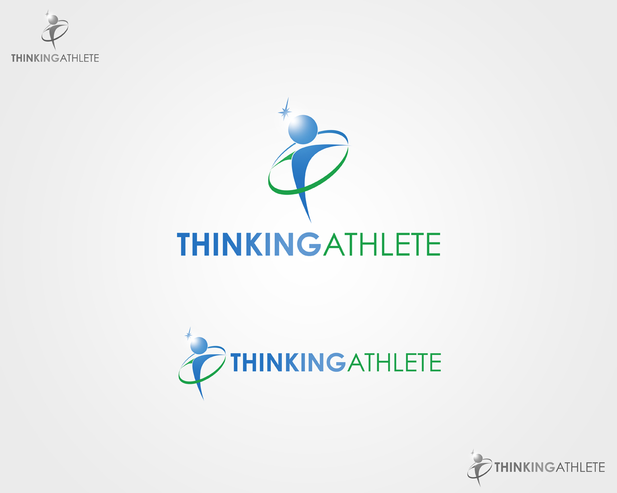 Logo Design by Qoaldjsk - Entry No. 19 in the Logo Design Contest Thinking Athlete Logo Design.