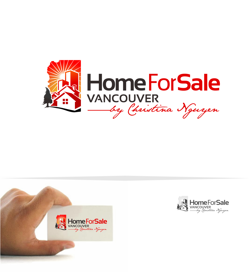 Logo Design by Mitchnick Sunardi - Entry No. 152 in the Logo Design Contest New Logo Design for HomeForSaleVancouver.