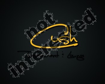Logo Design by YOiBE1 - Entry No. 67 in the Logo Design Contest Cush Restaurant & Lounge Ltd..