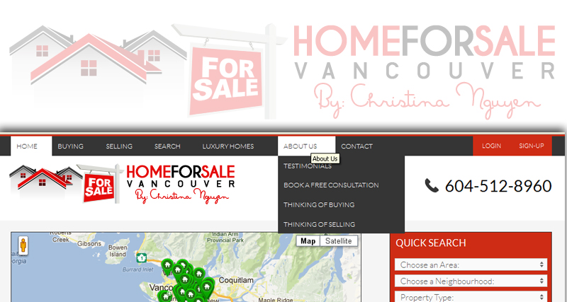 Logo Design by Private User - Entry No. 162 in the Logo Design Contest New Logo Design for HomeForSaleVancouver.