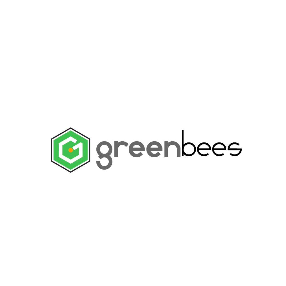 Logo Design by omARTist - Entry No. 279 in the Logo Design Contest Greenbees Logo Design.