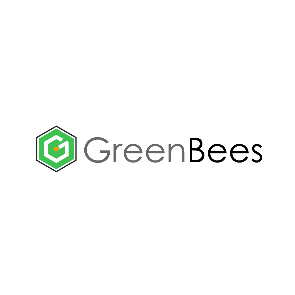 Logo Design by omARTist - Entry No. 280 in the Logo Design Contest Greenbees Logo Design.