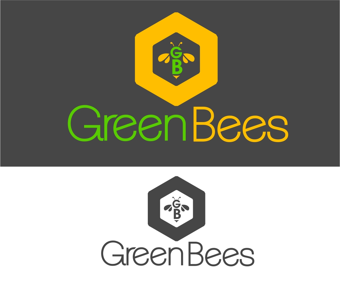 Logo Design by Karthi Keyan - Entry No. 283 in the Logo Design Contest Greenbees Logo Design.