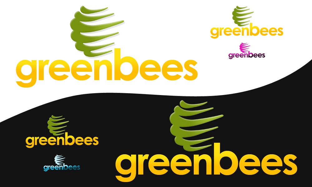 Logo Design by Private User - Entry No. 286 in the Logo Design Contest Greenbees Logo Design.