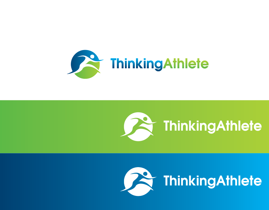 Logo Design by Muhammad Moinjaved - Entry No. 25 in the Logo Design Contest Thinking Athlete Logo Design.