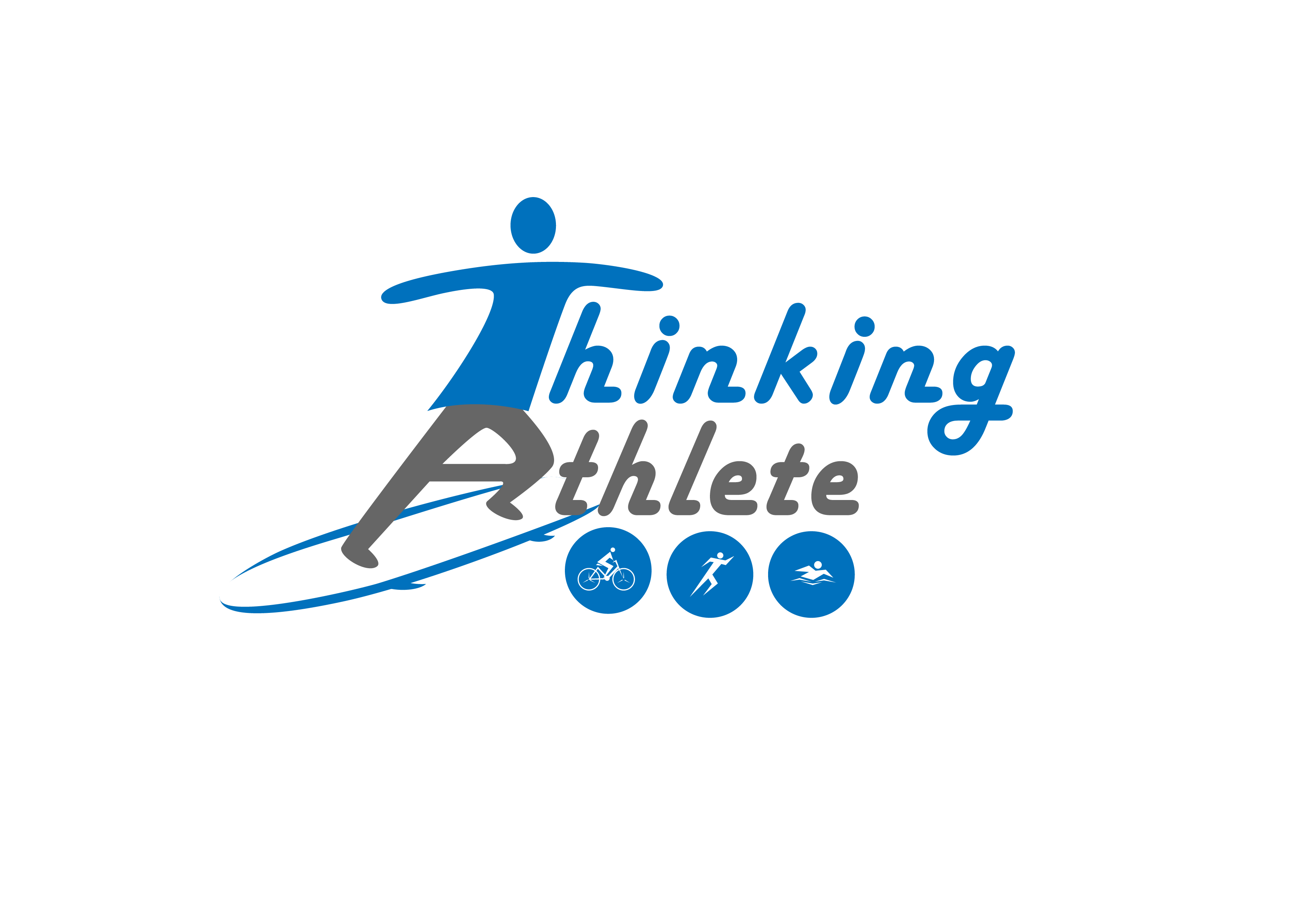 Logo Design by 3draw - Entry No. 27 in the Logo Design Contest Thinking Athlete Logo Design.