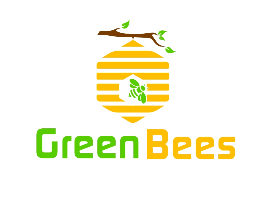Logo Design by Karthi Keyan - Entry No. 295 in the Logo Design Contest Greenbees Logo Design.