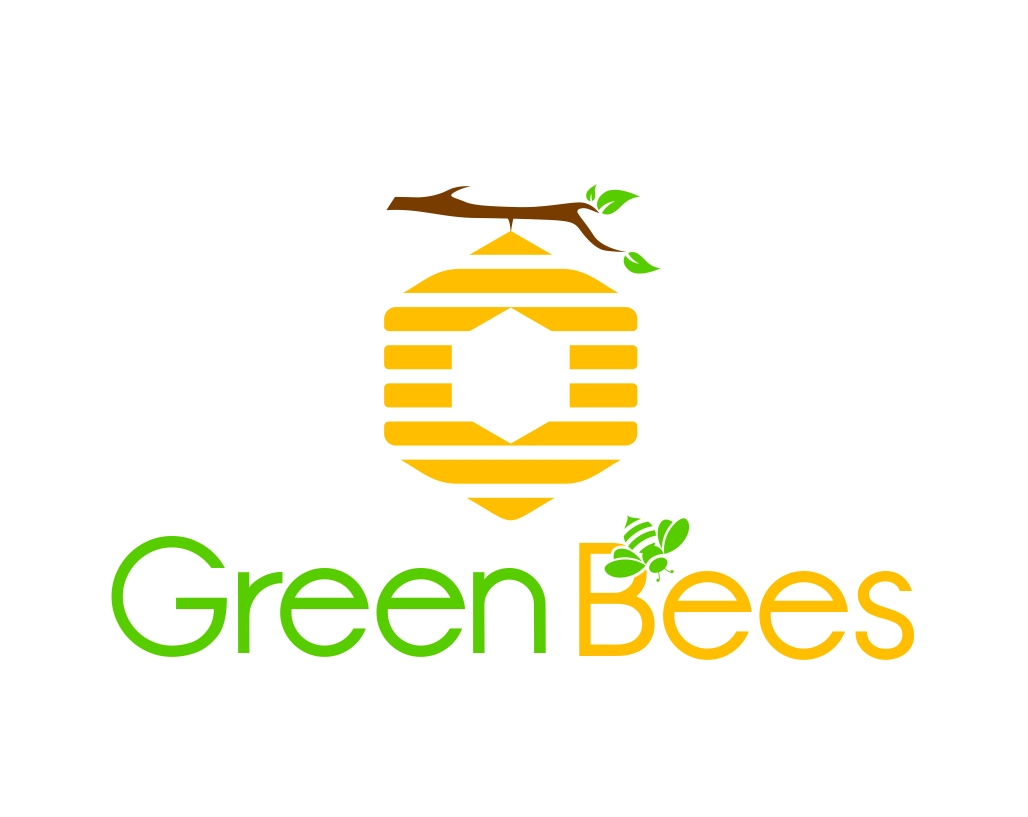 Logo Design by Karthi Keyan - Entry No. 297 in the Logo Design Contest Greenbees Logo Design.