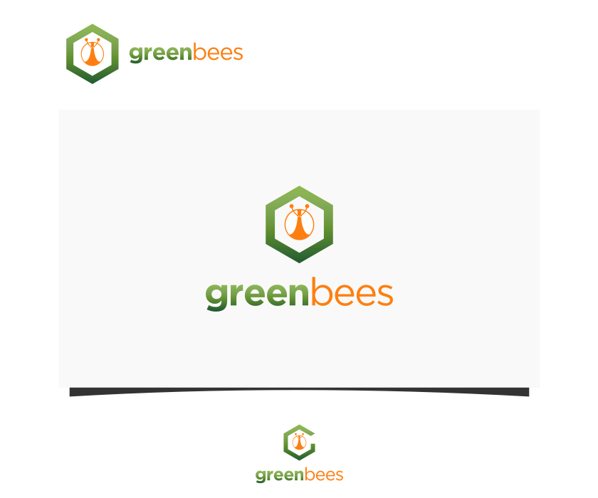 Logo Design by graphicleaf - Entry No. 302 in the Logo Design Contest Greenbees Logo Design.