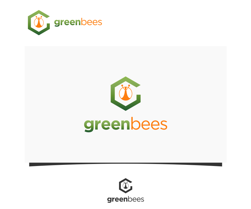Logo Design by graphicleaf - Entry No. 303 in the Logo Design Contest Greenbees Logo Design.