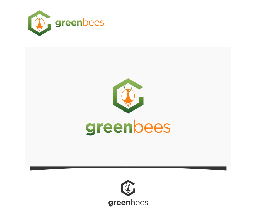 Logo Design by graphicleaf - Entry No. 304 in the Logo Design Contest Greenbees Logo Design.