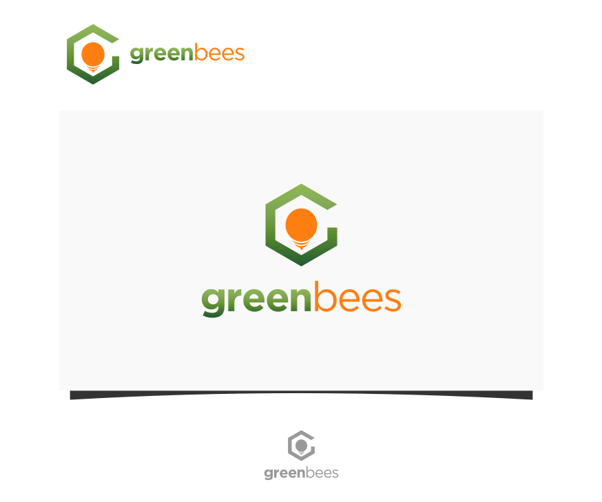 Logo Design by graphicleaf - Entry No. 305 in the Logo Design Contest Greenbees Logo Design.