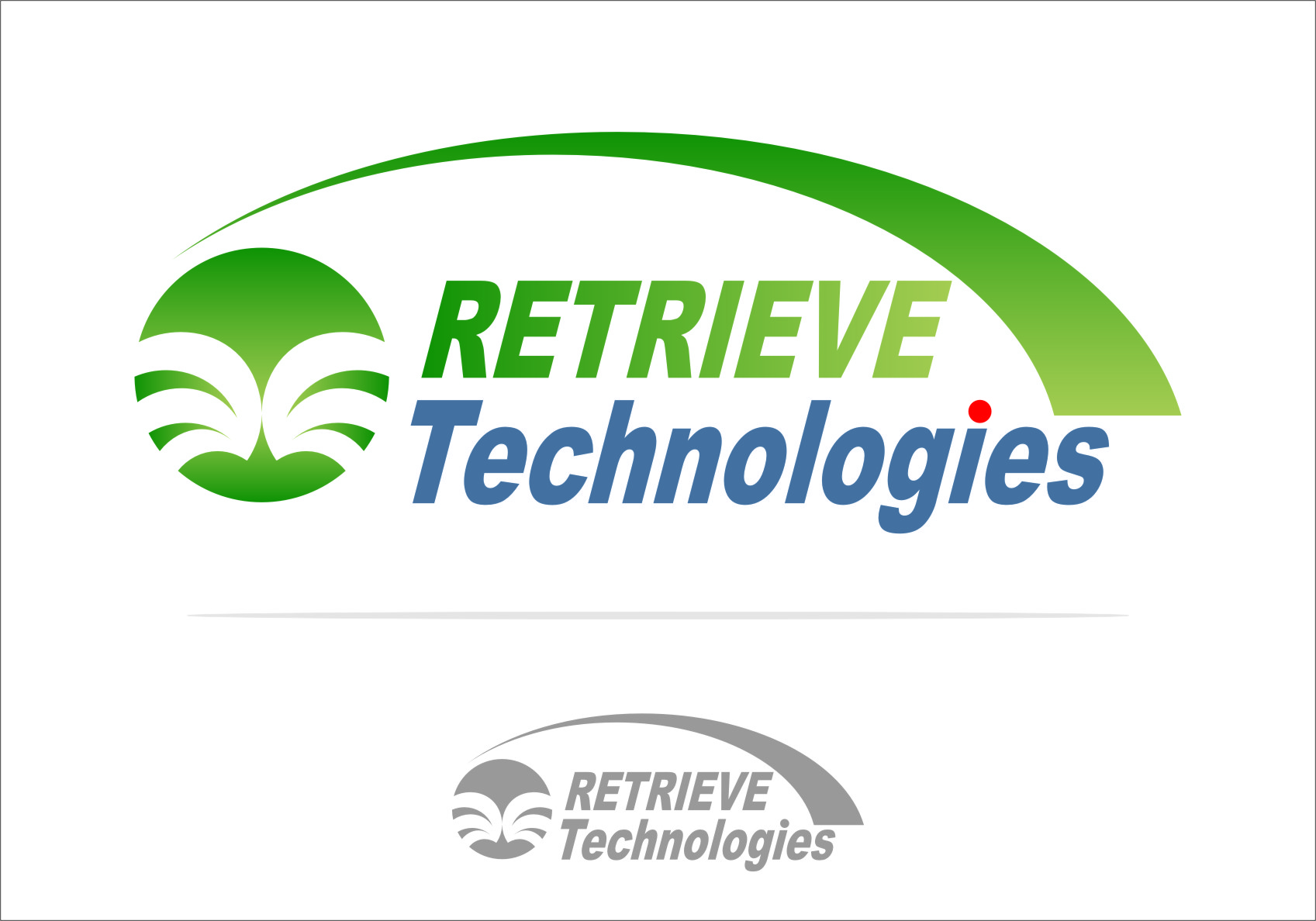 Logo Design by RasYa Muhammad Athaya - Entry No. 2 in the Logo Design Contest Artistic Logo Design for Retrieve Technologies.