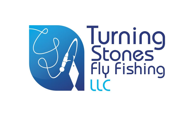 Logo Design by Private User - Entry No. 2 in the Logo Design Contest New Logo Design for Turning Stones Fly Fishing.