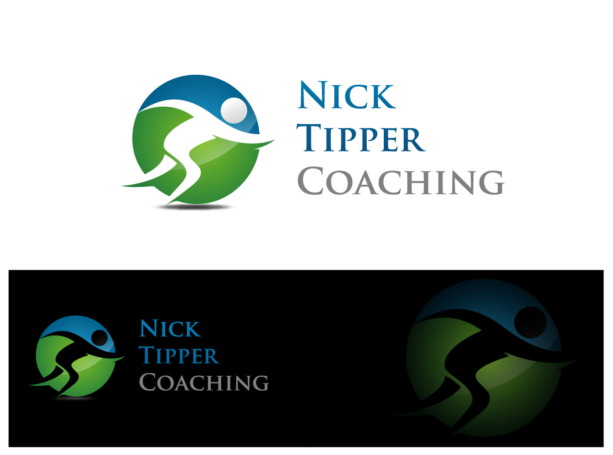 Logo Design by Ika Sari - Entry No. 10 in the Logo Design Contest Logo Design for Nick Tipper Coaching.