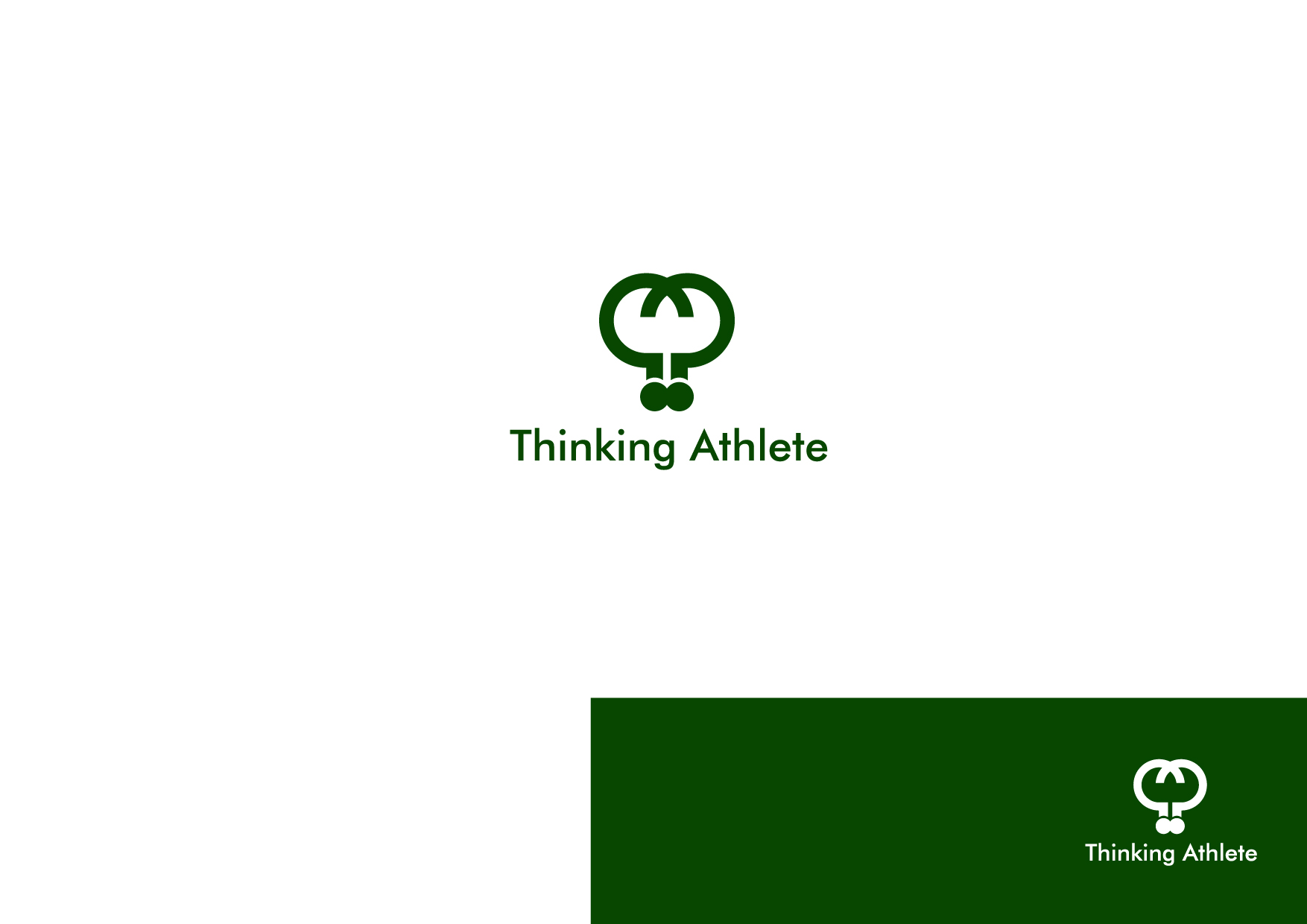 Logo Design by Osi Indra - Entry No. 37 in the Logo Design Contest Thinking Athlete Logo Design.