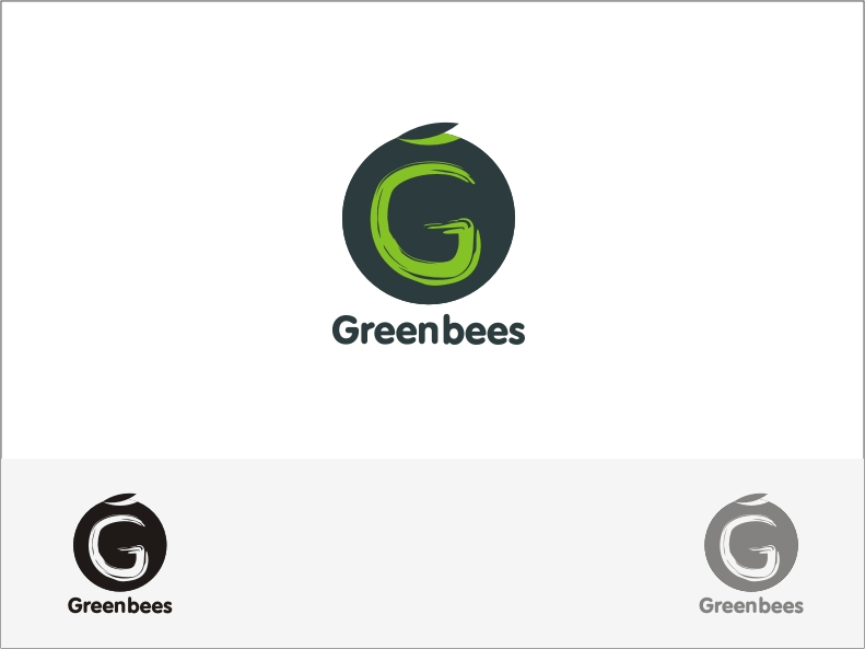 Logo Design by RED HORSE design studio - Entry No. 318 in the Logo Design Contest Greenbees Logo Design.