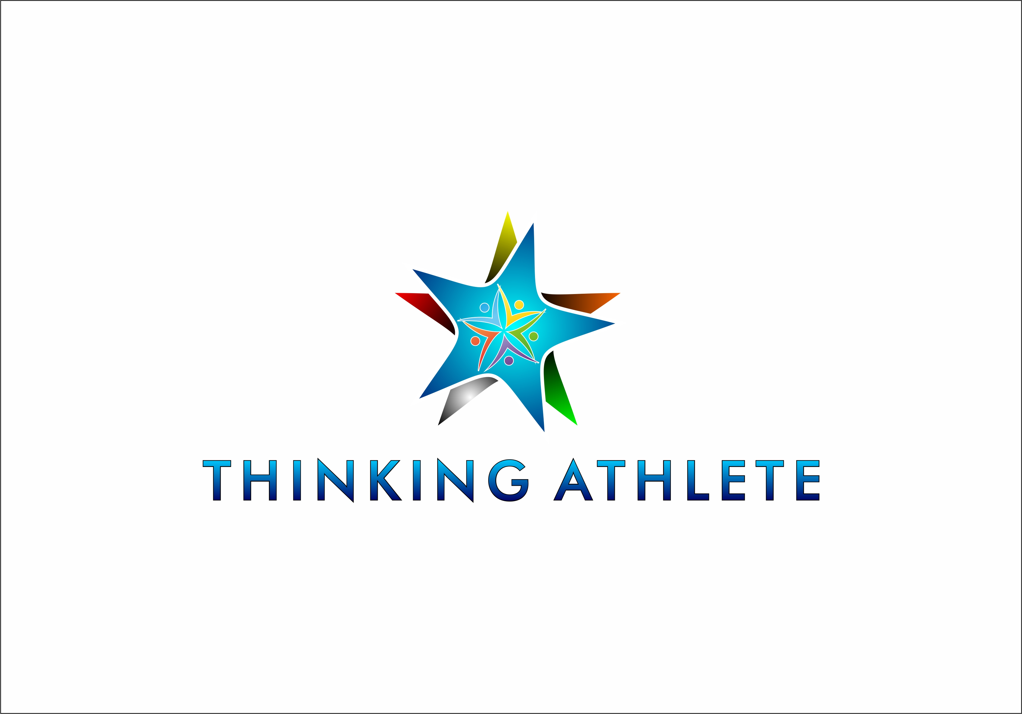 Logo Design by Fatih Ercan - Entry No. 40 in the Logo Design Contest Thinking Athlete Logo Design.