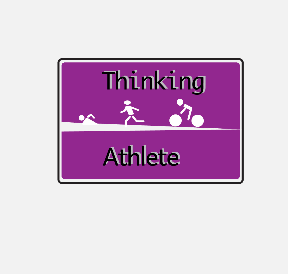 Logo Design by Nancy Grant - Entry No. 42 in the Logo Design Contest Thinking Athlete Logo Design.